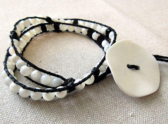 Wearable #SciArt! Beaded #pi wrap bracelet by Kokoba