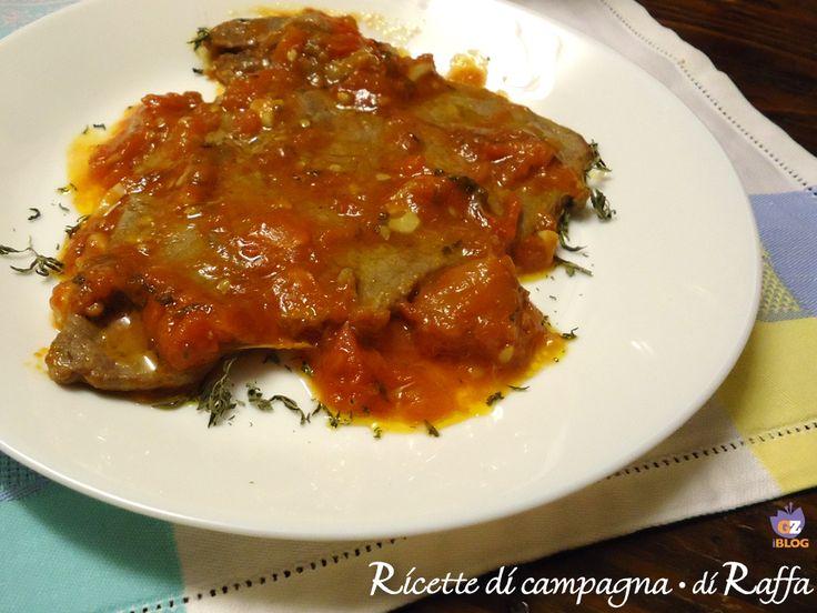 Fettine+alla+pizzaiola+di+casa+mia