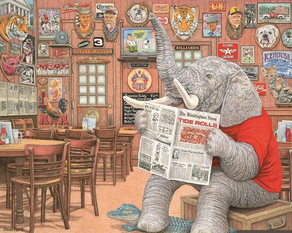 Elephant In The Room by Steve Ford    Alabama Football