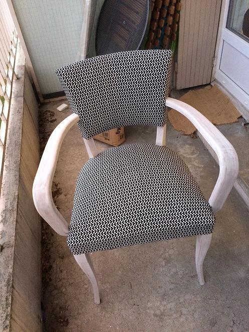 Atelier OCTA-Chaise vintage relookée
