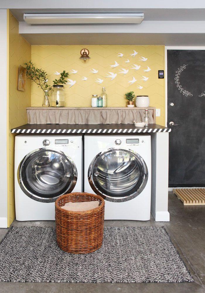 best 25 garage laundry ideas on pinterest utility room ideas pantry storage and laundry room. Black Bedroom Furniture Sets. Home Design Ideas