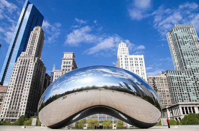 20 US Places to See Before You Die | Fodors. (Millennium Park, Chicago)