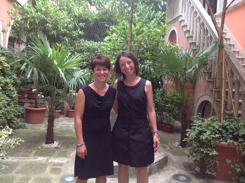 """Lidia Furlan (a sinistra) e Nicole Ivanovich, """"anime"""" del progetto #gustavenpa"""