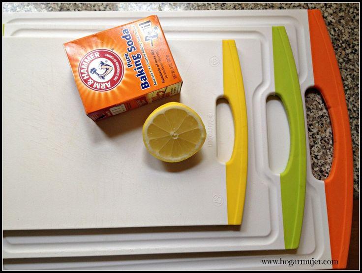 Como limpiar las tablas de cocina