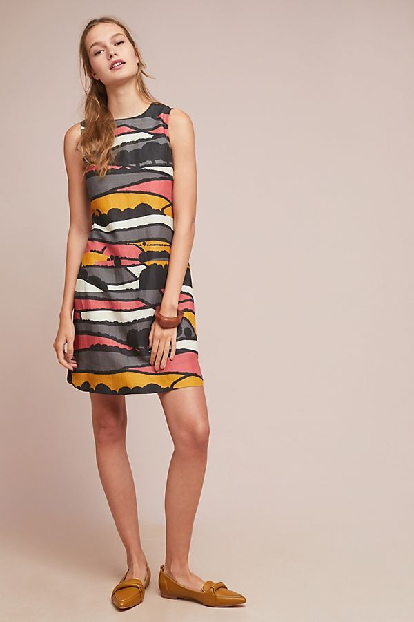 4522ff94fe36 Corey Lynn Calter Sleeveless Valley Shift Dress | Virtual Closet ...