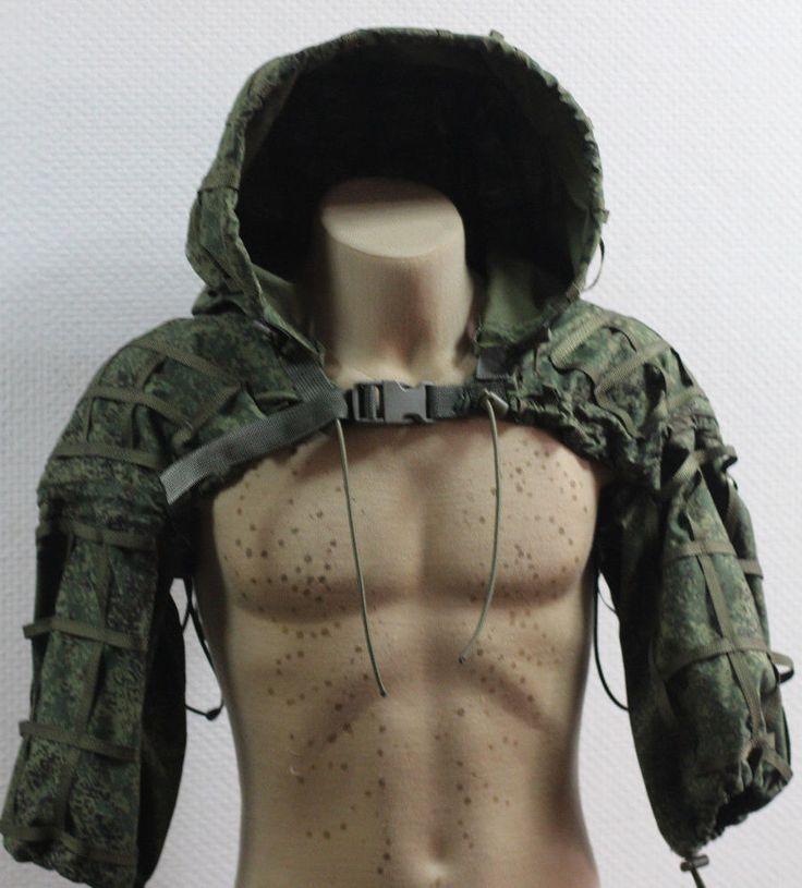 Russian Spetsnaz Ripstop Disguise Sniper Hood EMR Digital Flora + Gift | Collectibles, Militaria, Surplus | eBay!