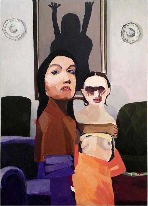 Helen Verhoeven, 'Mother 9', oil on canvas, 2013