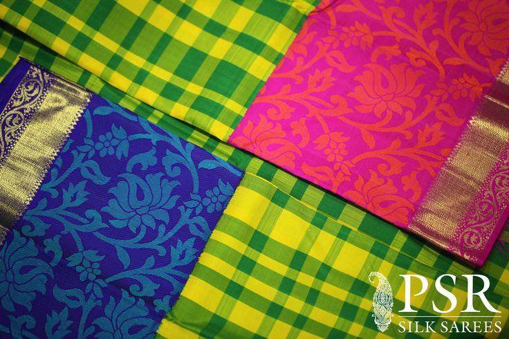 Ganga Jumana Saree The Splendid Colors of #Kanjivarams by PSR #saree #silk #designer #indian #fashion #bridal #wedding #women #traditional #new #stylish #gorgeous #design #handloom #pure #pallu #classic #zari #kanchipuram #kanchi #ethnic #PSR #collections #trendy #blouse https://www.facebook.com/psrsilkindia