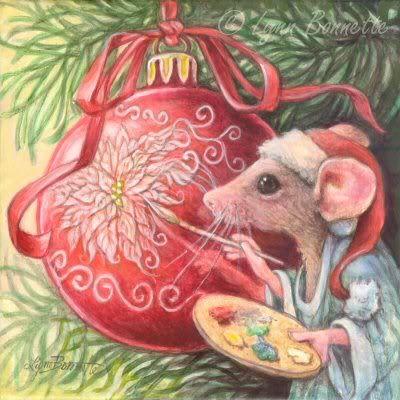 Стикеры, год крысы открытки нарисованные