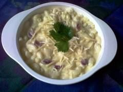 Mac n Cheese. Recipe in Bahasa Indonesia. For baby 9 months up.