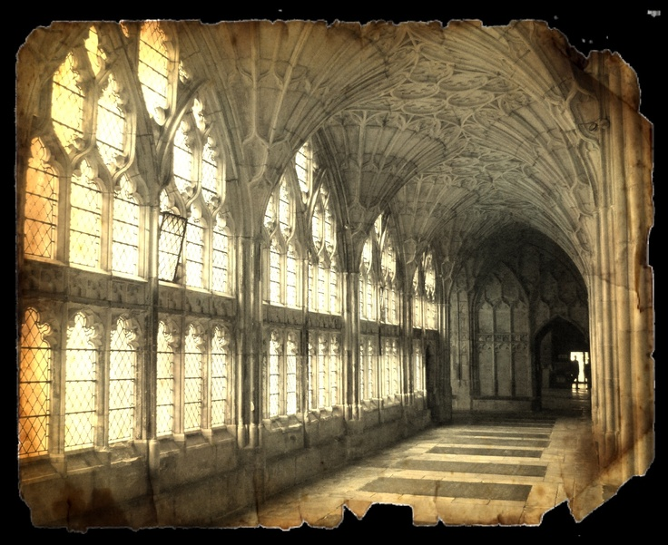 A beautiful shot of Gloucester Cathedral cloisters. I've been so lucky having had the opportunity to work on the windows of the cathedral for a number of years.