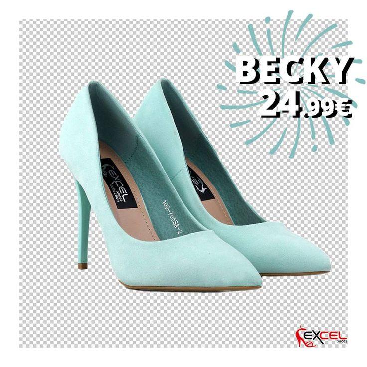 Color dream shoes! Becky 24.99€ #excelshoes #ss17 #spring #summer #2017 #shoes #women #womenfashion #heels #thessaloniki #papoutsia #gunaika #παπουτσια #moda
