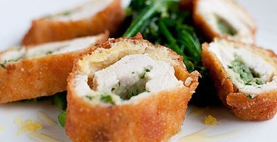 Chicken Kiev with Tenderstem Broccoli Recipe : Richard Corrigan Recipes | LifeStyle FOOD