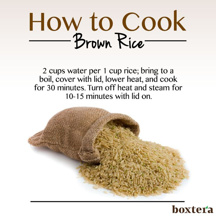 How to cook brown rice #recipe
