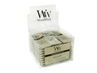Fireside Wax Melt by WoodWick by Woodwick. $2.20. Woodwick. Fireside Wax Melt. Our highly scented wax melts are perfect for use in standard simmer pots and fragrance up to ten hours.. Our signature fragrance balances the natural scents of amber, vetiver and musk to perfectly capture the essence of a cozy evening by a warm fire.