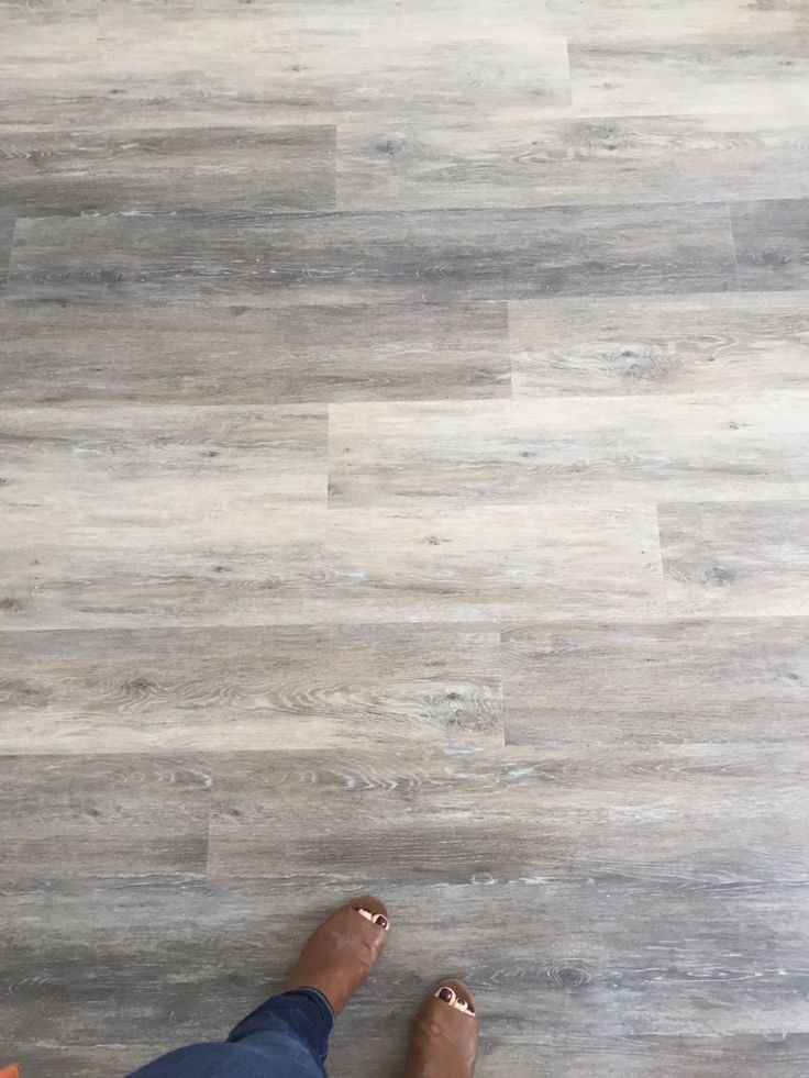 "My next floor! (Can be installed over tile!) Engineered Luxury Vinyl Plank Flooring by COREtec Plus (50LVP707 7 1/8""x 48"" x 8mm) from USFloors in Blackstone O"