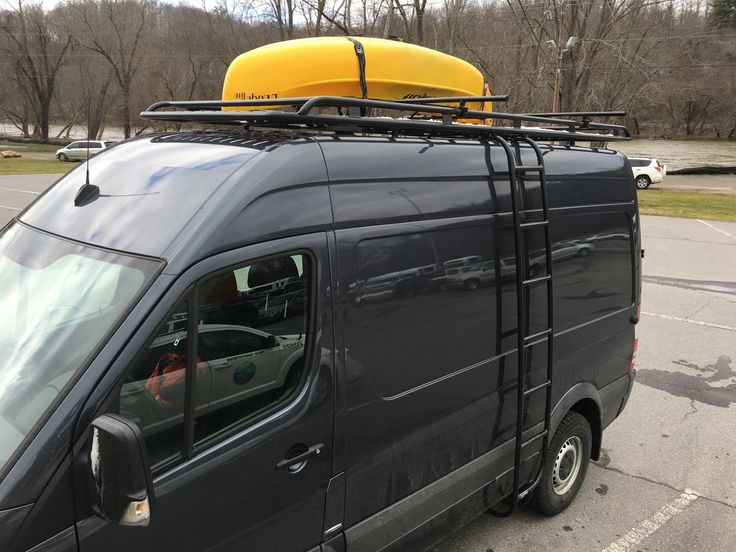 Sprinter Roof Rails & SPRINTER VAN ROOF RACK AluRack By ...