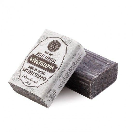 Hévíz térségi gyógyiszapos hidegen sajtolt szappan