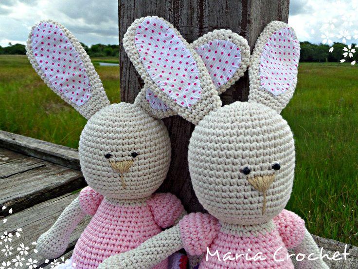 conejas por Maria Crochet