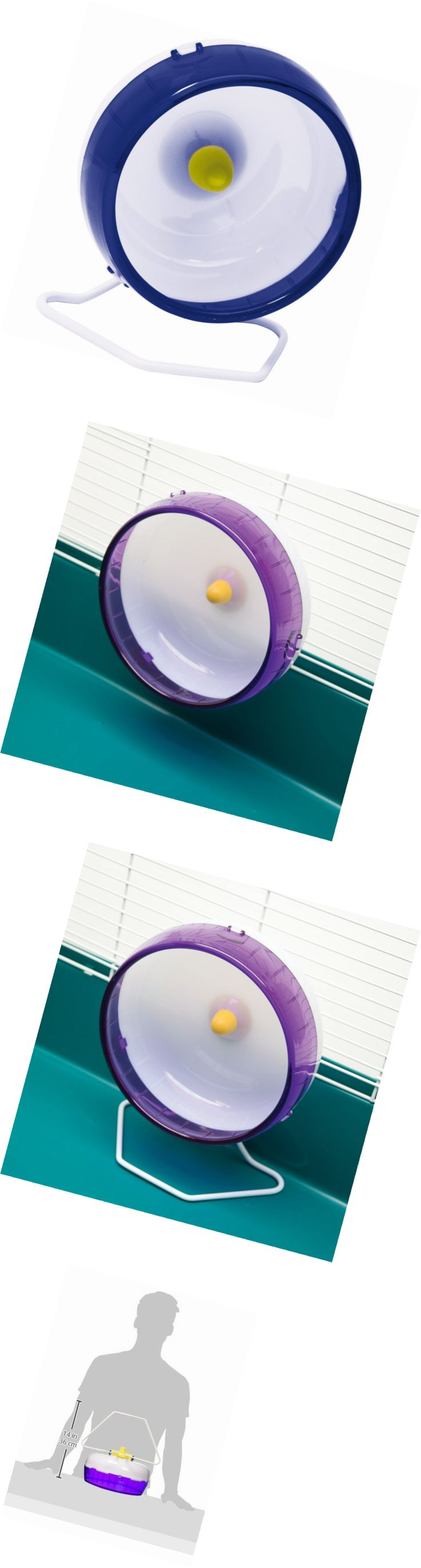 Exercise and Toys 63113: Kaytee Silent Spinner Exercise Wheel -> BUY IT NOW ONLY: $31.45 on eBay!