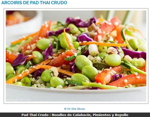 Pad Thaï Cru / Pad Thai Crudo / Rad Rainbow Raw Pad Thai   @petalatino @ohsheglows    @Mj0glutenVG #0GlutenVegeBrest    #singluten #vegan #dieta #saludable #vegetariana #cruda #PadThai #Zoodles #Crudo #Noodles #Calabacín #Pimientos      http://0-gluten-vege-brest.weebly.com/vegan-sg-monde--vegan-gf-world/pad-thai-cru-zoodles-au-piment-pad-thai-crudo-noodles-de-calabacin-pimientos-y-repollo
