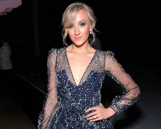 Nastia Liukin at an event hosted by the Christopher & Dana Reeve Foundation in NYC in November 2017...