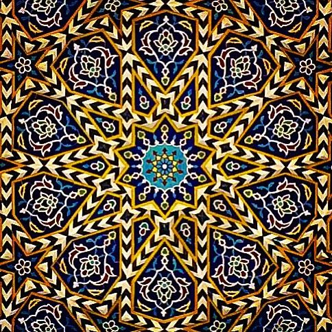 Iranian Arts. Qom. Iran