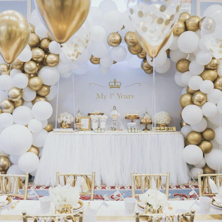 Balloonndecoration Gouden Feest Decoraties Verlovingsfeest