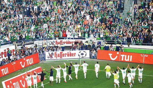 Bericht der Wolfsburger allgemeinen Zeitung zum 5:0 in Hannover.