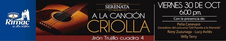 Día de la Canción Criolla en el Rímac