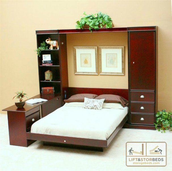 wall bed desk wallbeds lift and stor storage beds
