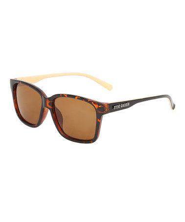 Look at this #zulilyfind! Tortoise Rectangle Sunglasses #zulilyfinds