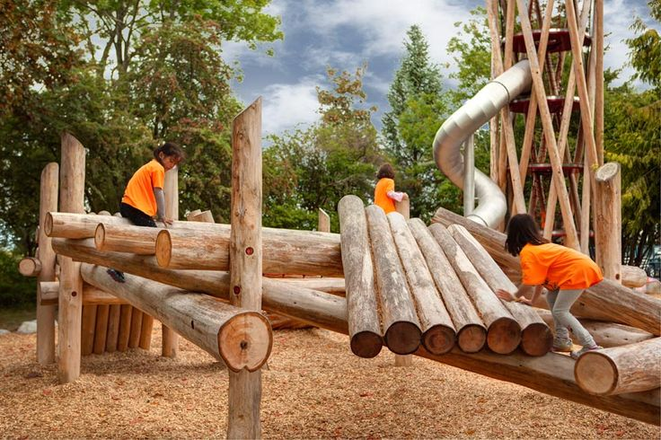 Terra Nova Playscape, Hapa Collaborative & WildPlay, Richmond British Columbia, 2014 - Playscapes