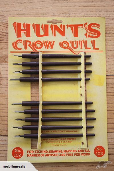 Vintage Shop Card Hunts Crow Quills x9 USA | Trade Me