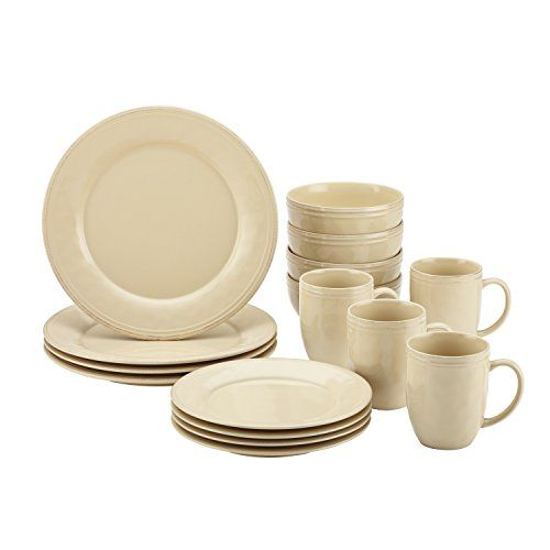 Experience the warm and welcoming appeal of the Rachael Ray Cucina Dinnerware 16-Piece Stoneware Dinnerware Set. As ideal for serving meals in cozy kitchens as for festive family get-togethers, the dishes blend relaxed Old World charm with modern functionality. Crafted from durable, solid... see more details at https://bestselleroutlets.com/home-kitchen/kitchen-dining/dining-entertaining/dinnerware-sets/product-review-for-rachael-ray-cucina-dinnerware-16-piece-stoneware-dinne