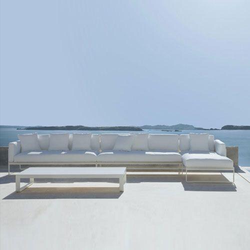 Gandia Blasco Flat Modern Outdoor Sofa Modular 4 | Stardust Modern Design