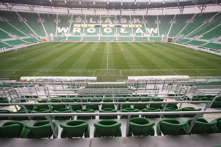 This is the second, after the National Stadium, the object designed by JSK Architects. Officially known as Municipal Stadium, the stadium in Wroclaw is one of the club Slask Wroclaw.