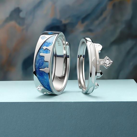 handmade in the U.S. Simply Peachy Adjustable Ring