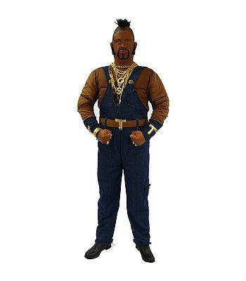 B. A. Baracus kostuum voor heren. Luxe B. A. Baracus kostuum is een compleet pak met gespierd bovenlichaam, kettingen en pruik. Ga verkleed als een echt B. A. Baracus van The A Team met dit B. A. Baracus kostuum.