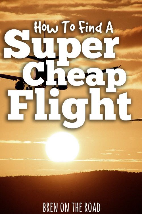 How do you find a cheap flight? This guide shows you some of the simple tips and tricks I use every time I fly.