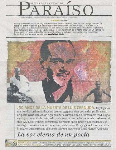 """El suplemento del periódico El Mundo: """"Papeles del paraíso"""", homenajea al…"""