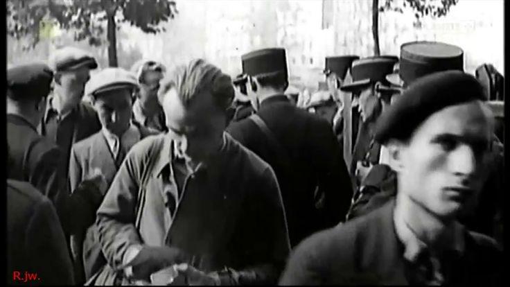 ** OBRAZ WOJNY 1939-40 w kronikach filmowych - cz.1. dokum. PL