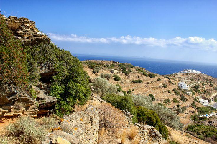 View towards kastro