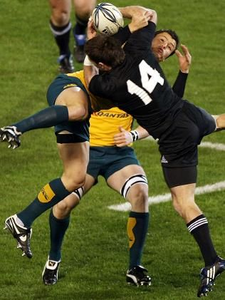 New Zealand vs. Australia. Never ends well...ahaha