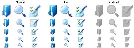 Basic Toolbar Icons
