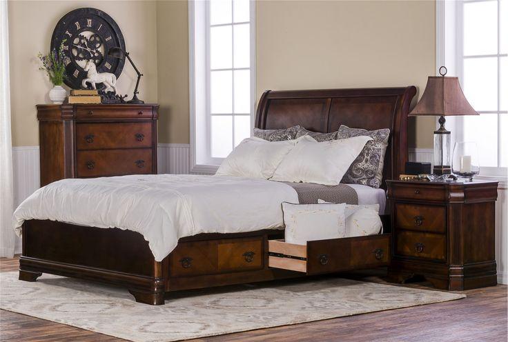 Preston queen storage bed storage beds drawers and preston Bedroom furniture preston