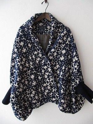 kaleidoscope coat / purchase Actual / Mina perhonen home delivery purchase specialty shop drop [drop]