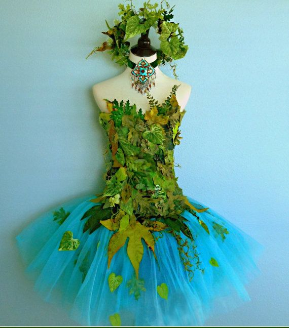 MADE TO ORDER costume Woodland Fairy Earth by FairyNanaLand