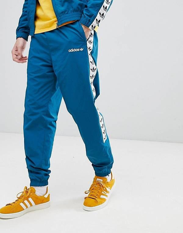 945cd3145574c adidas Originals Vintage Joggers With Taping In Blue CE4827   Sports ...