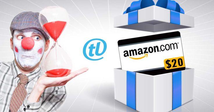 Comparte nuestros artículos en #Facebook este mes de septiembre y gánate una Gift Card de $20 en Amazon. Mientras más compartas, más chance de ganar tendrás. Clic sobre la imagen para ver los detalles del #concurso en #Tecnolatinos http://tnol.at/N